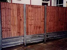 Concrete Fence Posts And Gravel Boards 2