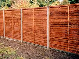 Concrete Fence Posts And Gravel Boards 3