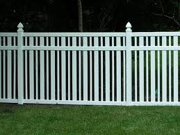 Cheap Panel Fences Options - Bamboo or PVC 2