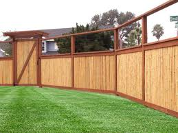 Cheap Panel Fences Options - Bamboo or PVC 3