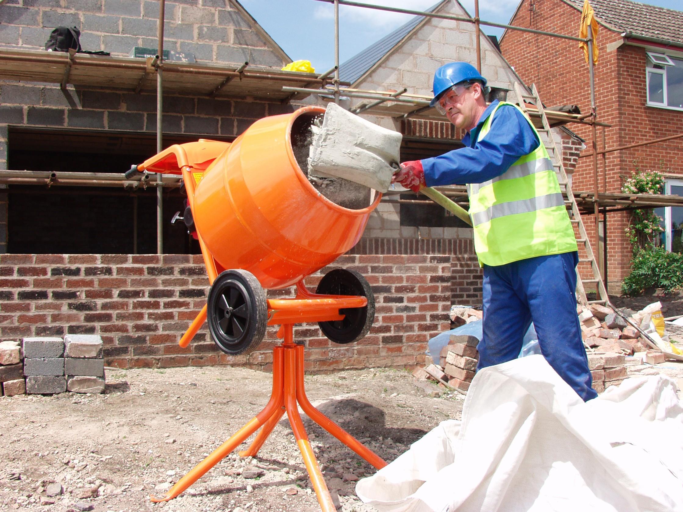 Изготовить бетон своими руками